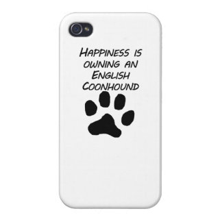 Happiness Is Owning An English Coonhound iPhone 4/4S Case
