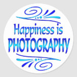 Happiness is PHOTOGRAPHY Stickers
