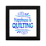 Happiness is QUILTING Gift Boxes