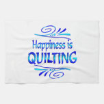 Happiness is QUILTING Kitchen Towels