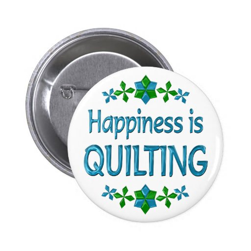 Happiness is Quilting Pins