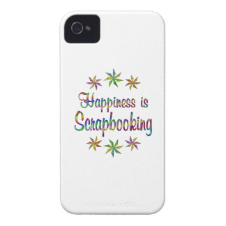 Happiness is Scrapbooking Case-Mate iPhone 4 Cases