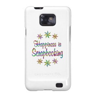 Happiness is Scrapbooking Samsung Galaxy SII Cover