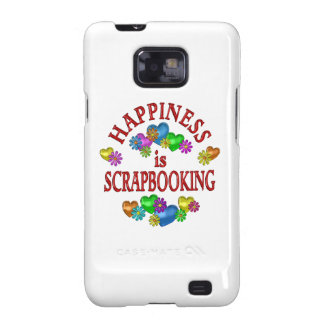 Happiness is Scrapbooking Galaxy SII Cover