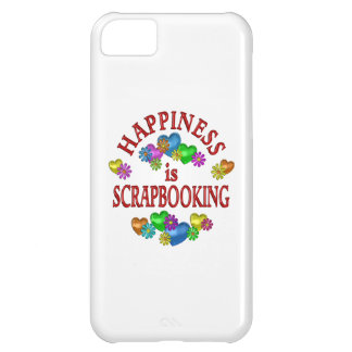 Happiness is Scrapbooking iPhone 5C Cover