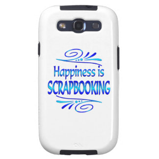 Happiness is SCRAPBOOKING Samsung Galaxy SIII Case