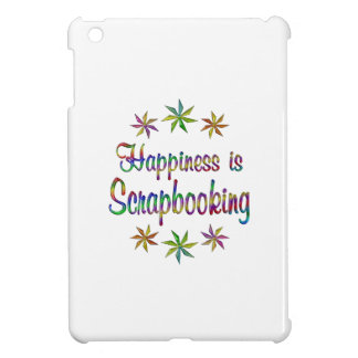 Happiness is Scrapbooking iPad Mini Cover