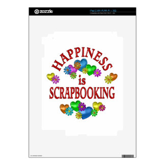 Happiness is Scrapbooking Skins For iPad 2