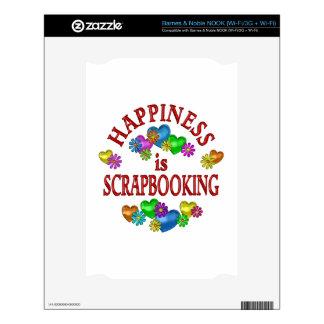 Happiness is Scrapbooking NOOK Decals