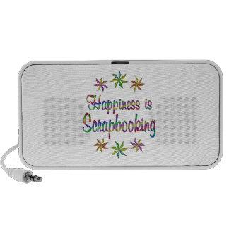 Happiness is Scrapbooking Mini Speaker