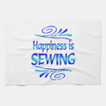 Happiness is SEWING Towel