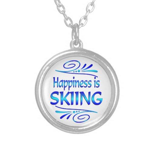 Happiness is SKIING Custom Jewelry