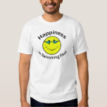 Happiness is Swimming Fast T Shirt