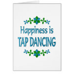 Happiness is Tap Dancing Card