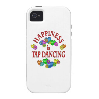 Happiness is Tap Dancing iPhone 4/4S Cases