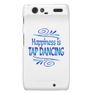 Happiness is TAP DANCING Motorola Droid RAZR Case