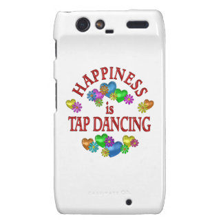 Happiness is Tap Dancing Droid RAZR Covers