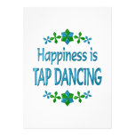 Happiness is Tap Dancing Personalized Invites