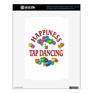 Happiness is Tap Dancing NOOK Skins