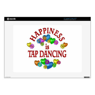 Happiness is Tap Dancing Decal For Laptop