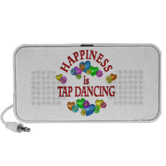 Happiness is Tap Dancing Laptop Speakers