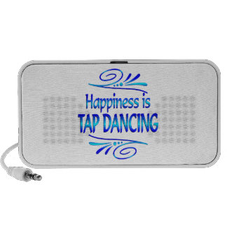 Happiness is TAP DANCING Travelling Speakers