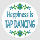 Happiness is Tap Dancing Stickers
