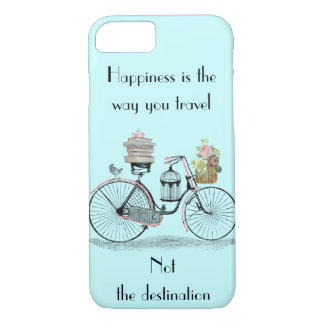 Happiness is the way you travel iPhone 7 case cove