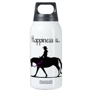 Happiness is... thermos water bottle