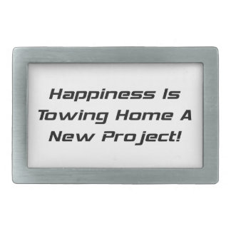 Happiness Is Towing Home A New Project Belt Buckle