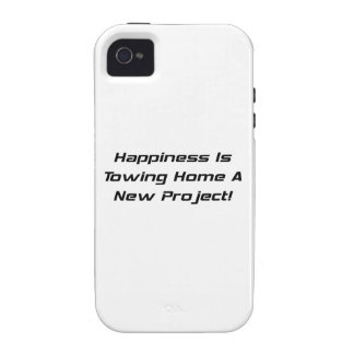 Happiness Is Towing Home A New Project iPhone 4 Case
