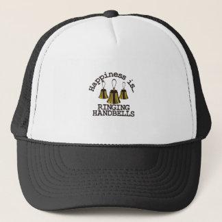 Happiness is… trucker hat