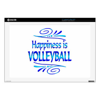 Happiness is VOLLEYBALL Skin For Laptop