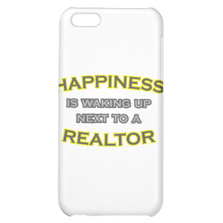 Happiness Is Waking Up Next To a Realtor iPhone 5C Cover