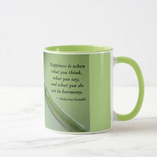 Happiness is when... mug