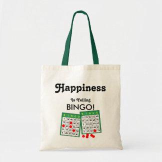 Happiness is Yelling Bingo! Bingo Lovers Tote