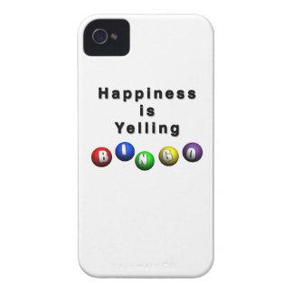 Happiness Is Yelling BINGO iPhone 4 Covers
