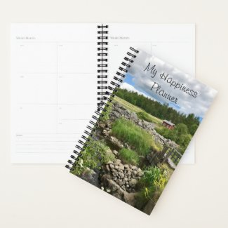 Happiness Journal / Little Red Hut Planner