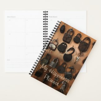 Happiness Journal / Locks and Keys Planner