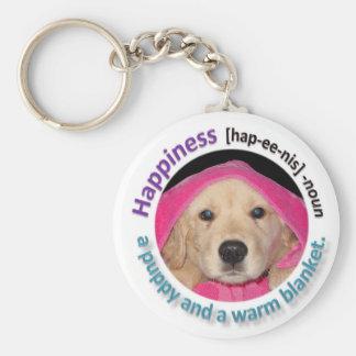 """""""Happiness"""" Keychain"""