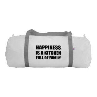 Happiness Kitchen Full Family Gym Bag