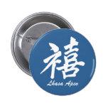 Happiness Lhasa Apso Pins