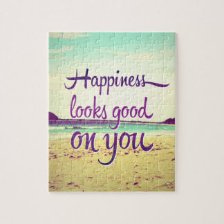Happiness Looks Good on You Jigsaw Puzzle