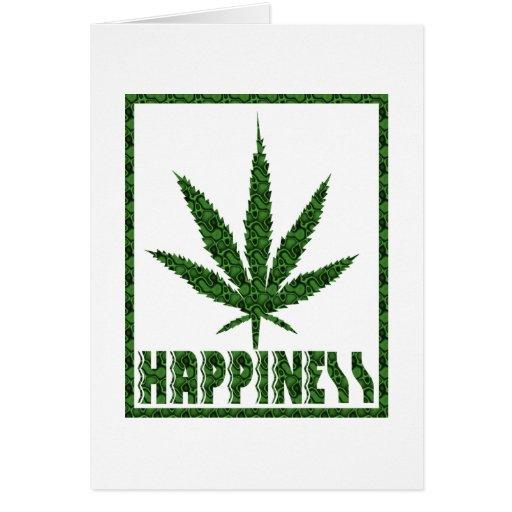 Happiness: Marijuana Card