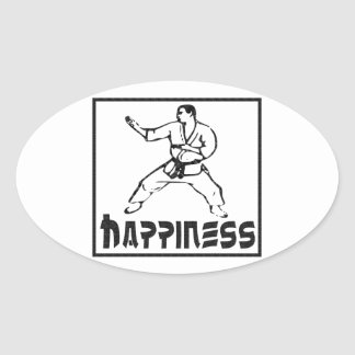 Happiness: Martial Arts Stickers