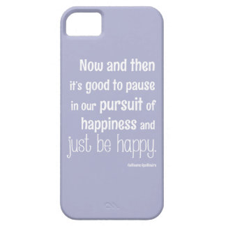 Happiness Motivational Quote iPhone SE/5/5s Case