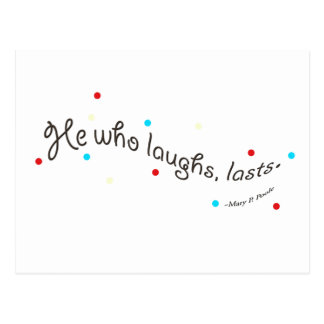 Happiness Motivational Quotes Postcard
