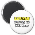 Happiness...NMR Guru Refrigerator Magnets