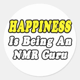 Happiness NMR Guru Sticker
