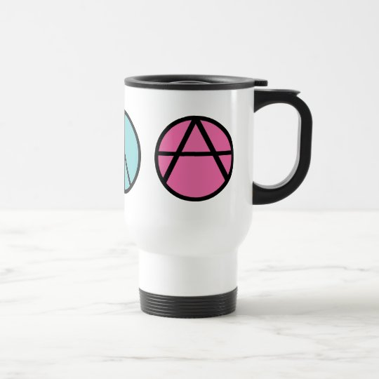Happiness Peace Freedom Mug